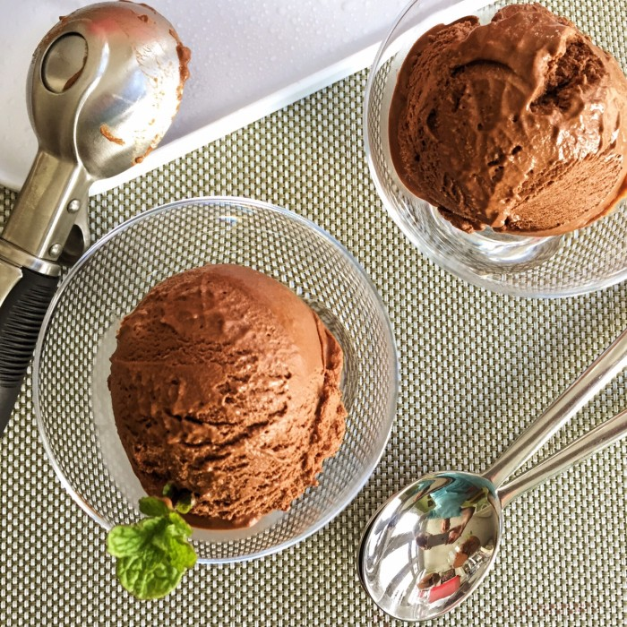 Frozen Chocolate Deliciousness Without an Ice Cream Machine