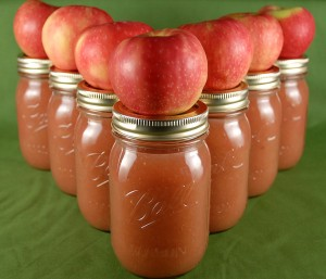 Rich and Spicy Applesauce