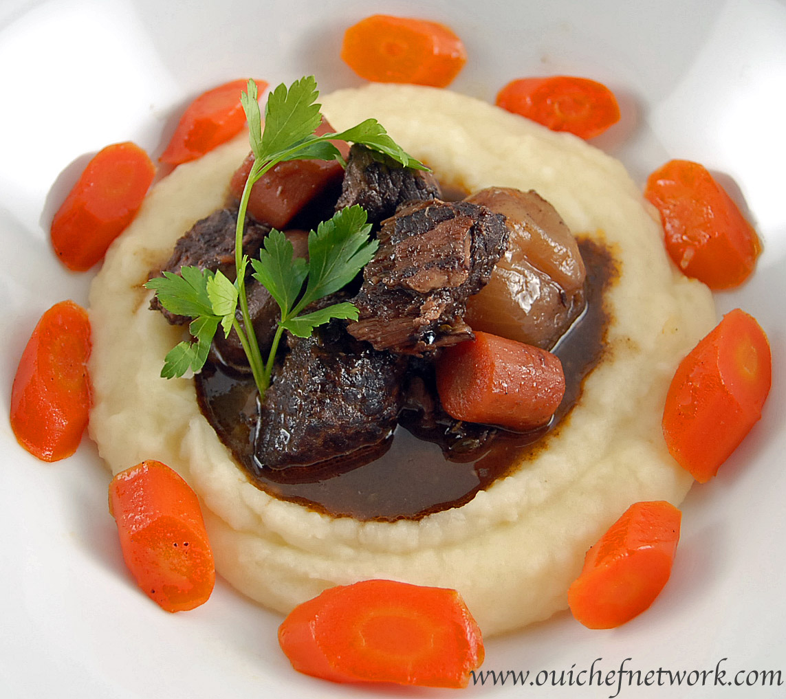 Beef bourguignon for A french cuisine