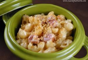Macaroni and Cheese with Ham