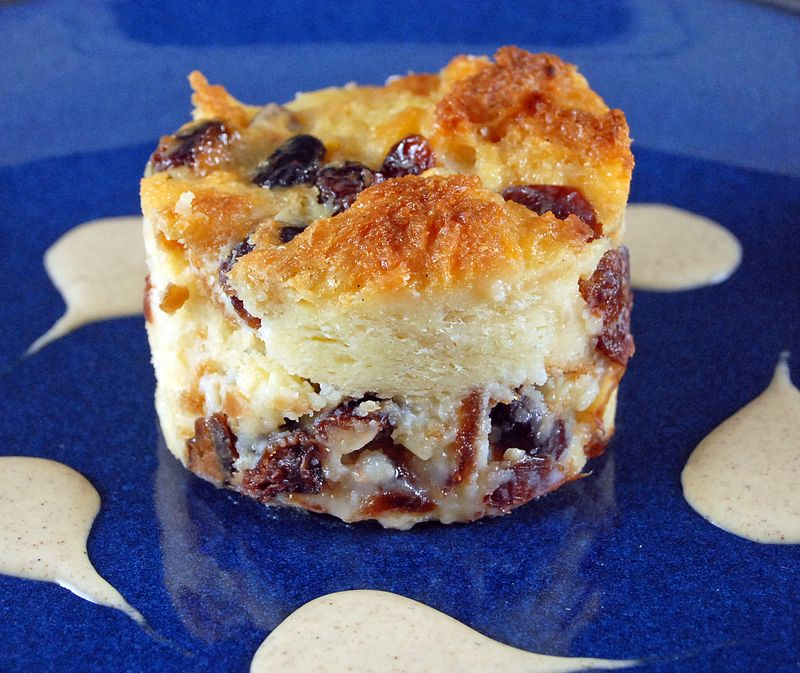 Cranberry Bread Pudding 1