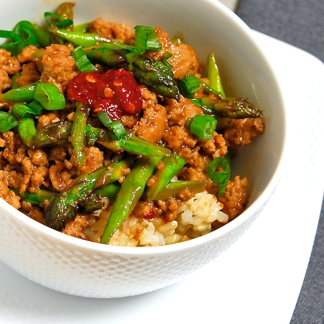 Spicy Pork with Asparagus - Blog 111