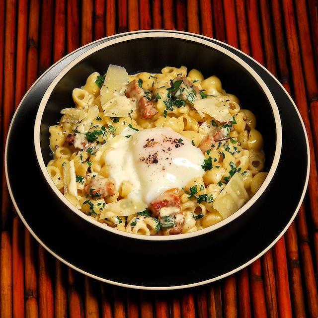 Pasta Un-Carbonara - Blog 111