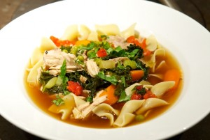 Ming and Muppets Chicken Noodle Soup