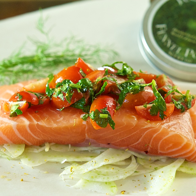 Salmon prepped- Blog 462
