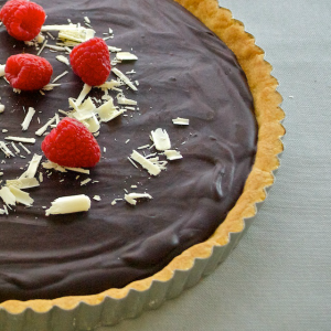 A Chocolate Lovers Tart