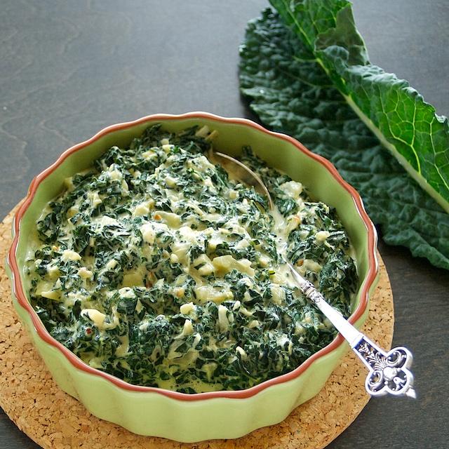Creamy Kale Recipe | Easy Vegetarian Recipes