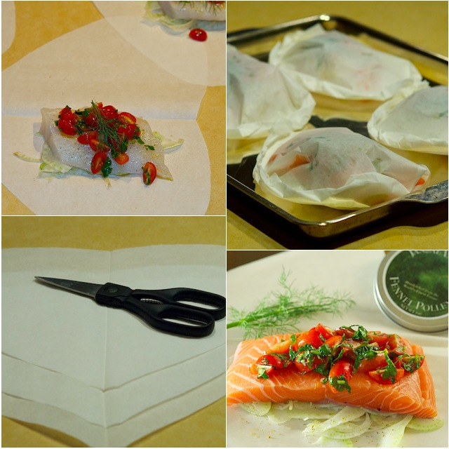 ... parchment recipe salmon with fennel baked in parchment recipes