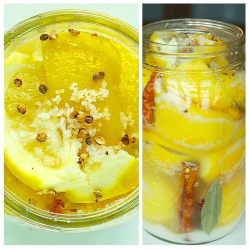 Preserved Lemons Collage