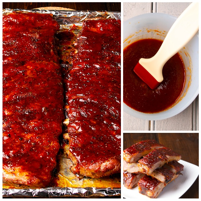 Ribs Collage