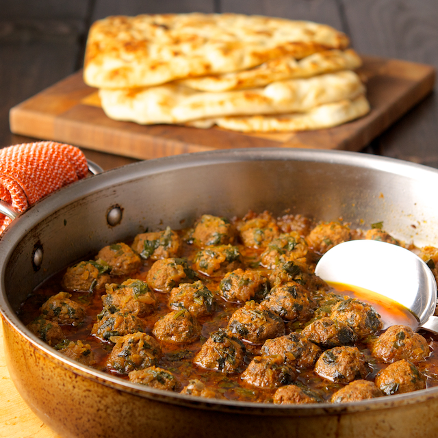 Kefta Tagine With Herbs Spices And Lemon