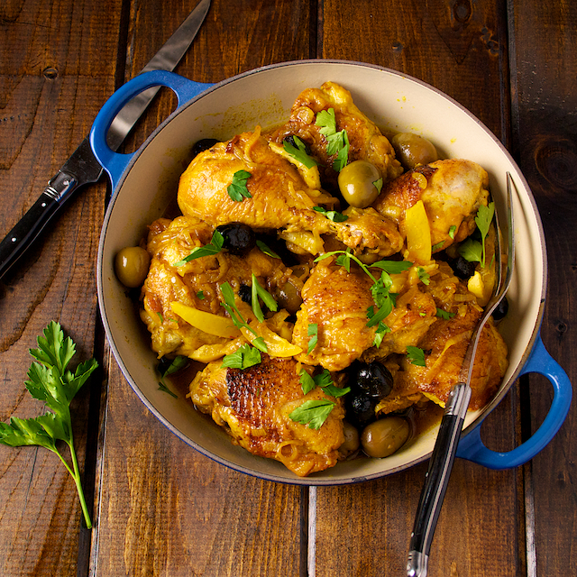 Chicken Tagine With Olives And Lemons