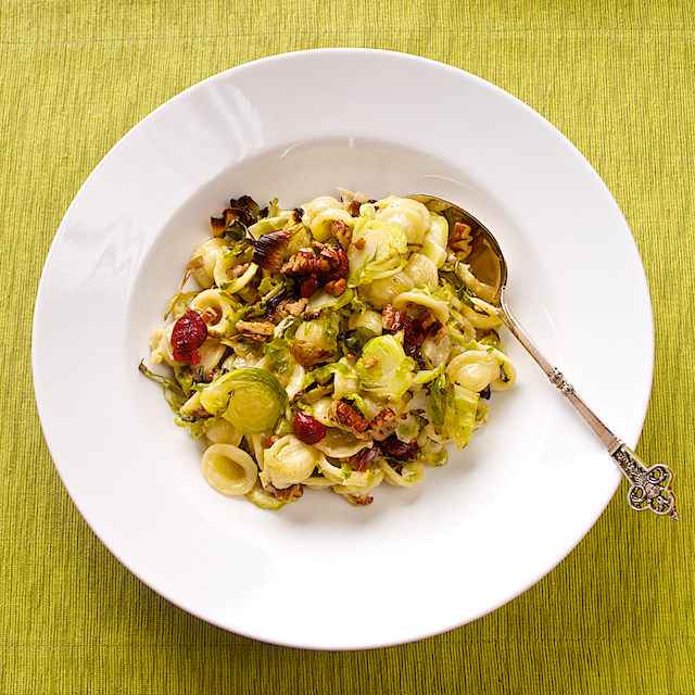 Orecchiette with brussels sprouts - Blog 1300