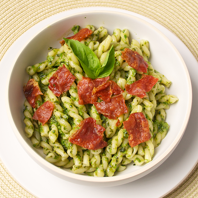 Pesto with Serrano Tight - Blog 1468