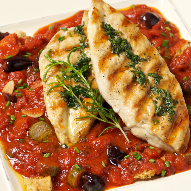 Chicken with capers  tight - Blog 3569