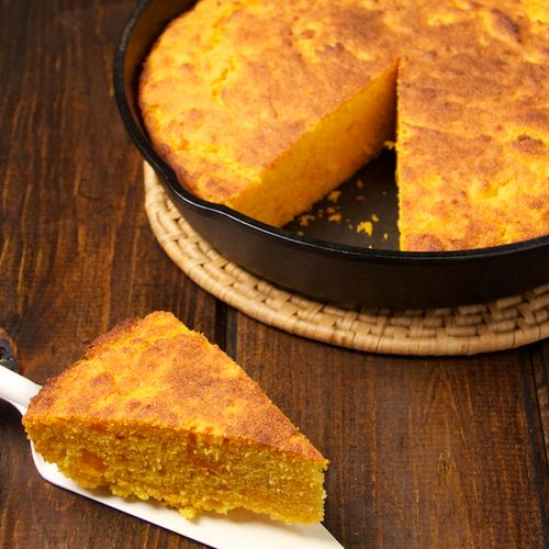 Cornbread slice- Blog 3501
