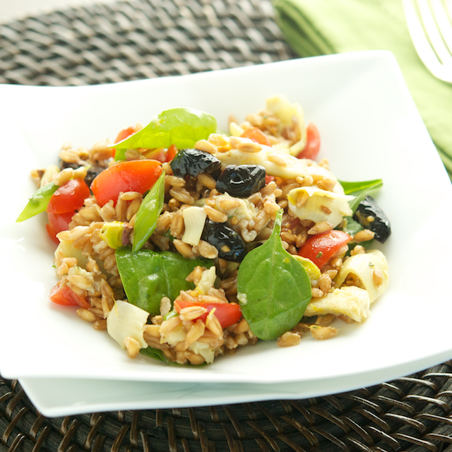 Provencal Farro Salad - Oui, Chef
