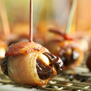 Devils on Horseback and Potato & Bacon Poppers