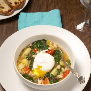 Swiss Chard and White Bean Soup