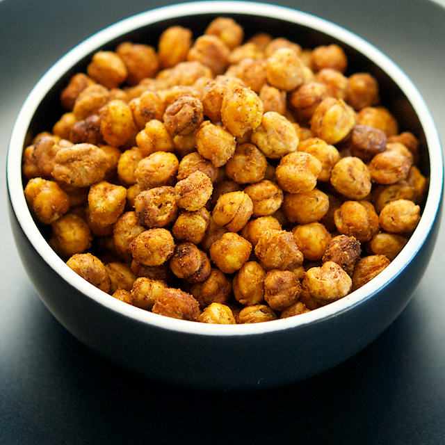 Roasted Spicy Chickpeas - Oui, Chef