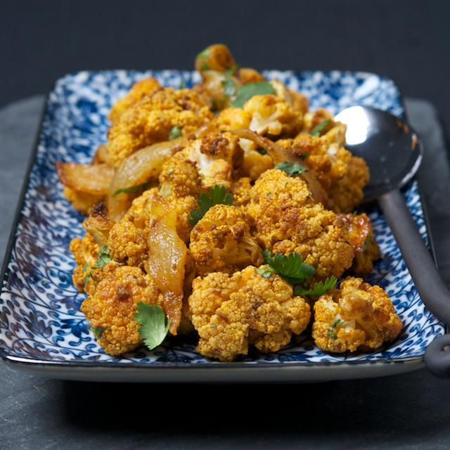 Curried Cauliflower - Blog 3735