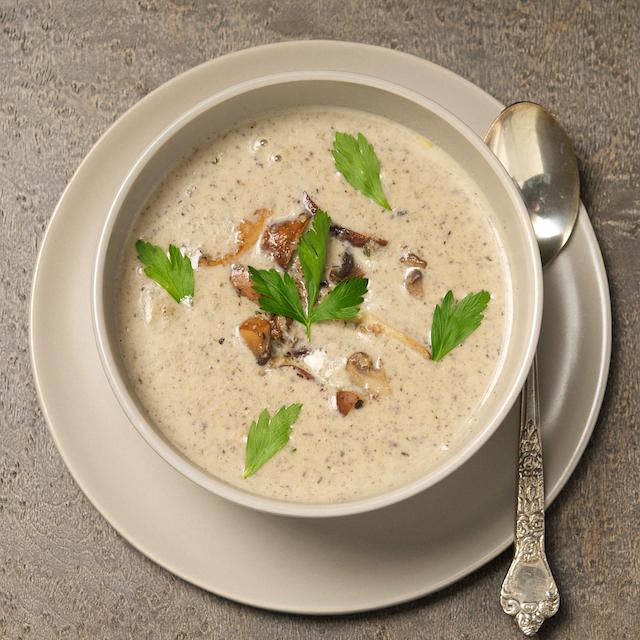 Mushroom soup top - Blog 3750