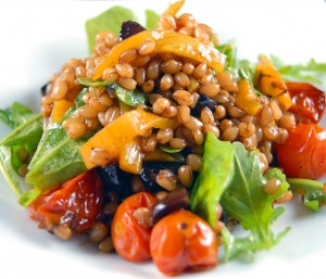 Provencal Wheat Berry Salad