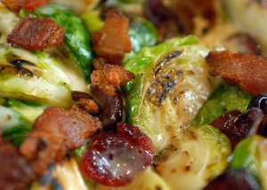 Brussel Sprouts with Fennel and Cider Cream