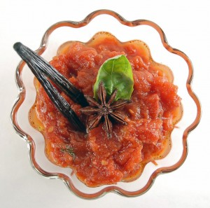 Anise, Basil and Vanilla Marinara Sauce