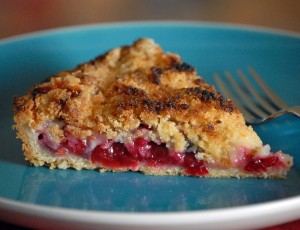Chris' Cranberry Crumb Tart