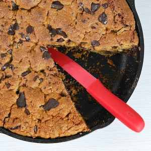 Chocolate Chunk and Cherry Skillet Cookie