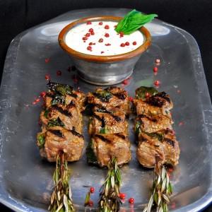 Herbed Beef Skewers with Horseradish Cream – A Food52 WINNER!