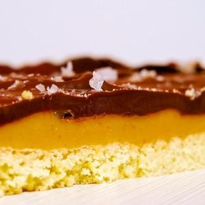 Chocolate-Caramel Slice