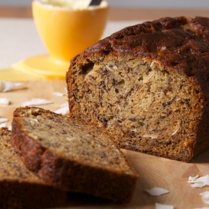 A Truly Tropical Banana Bread