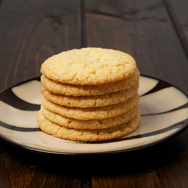 Corn Cookies Stack - Blog 3393