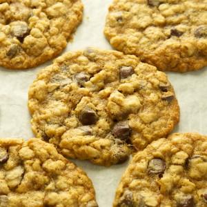 Chocolate-Oatmeal-Walnut Cookies