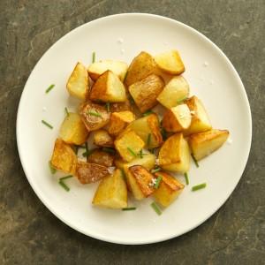 Crispy Salt and Vinegar Potatoes