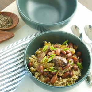 Easiest Red Beans and Rice
