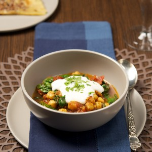 Spinach and Chickpea Curry